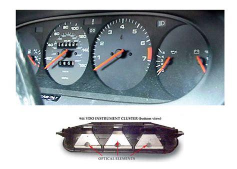 automotive repair manual 1985 porsche 944 instrument cluster porsche 944 1985 88 factory and replacement gauges electric parts