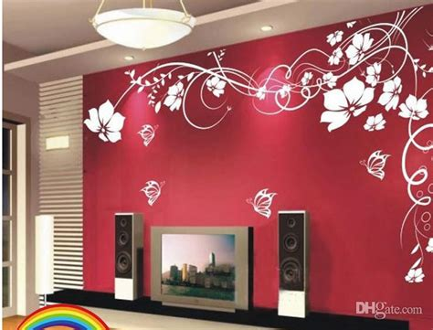 wallpaper for wall decor price hot selling beautiful flower wall paper decal art stickers