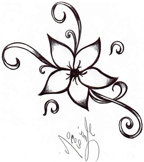 Flower For Home Decoration by Easy Cool Drawing Designs Easy Cool Drawing Designs 3