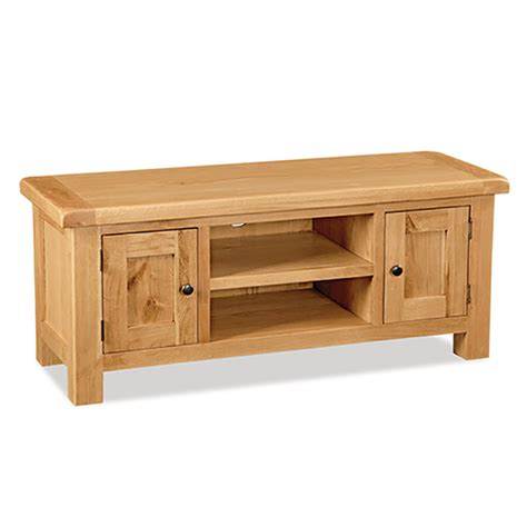 salisbury oak large tv stand up to 53 quot