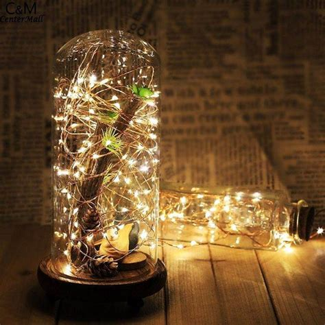 Mcd6 Lu Led Natal Dekorasi Led Twinkle Light Led String Ungu Purpl id 233 e centre de table de no 235 l 224 faire soi m 234 me pour une