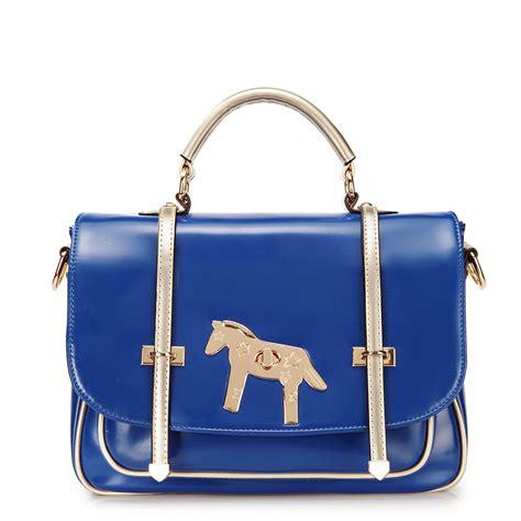 Korea Style Dual Bag korean style color dual use bag blue