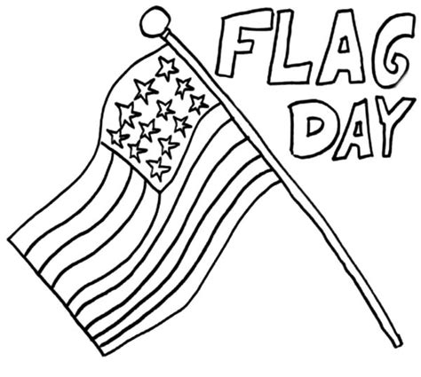 coloring sheets for flag day coloring pages ideas