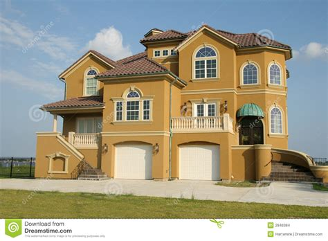 dream house mortgage dream house mansion with view stock images image 2846384