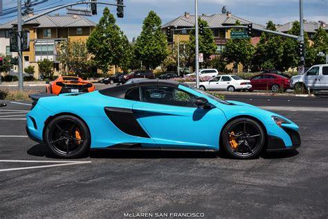 mclaren blue gallery fistral blue mclaren 675lt spider