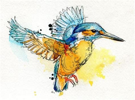 watercolor animals by abby diamond art and design