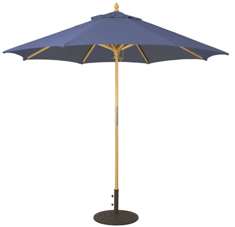 Wooden Patio Umbrella 9 Wood Patio Umbrella