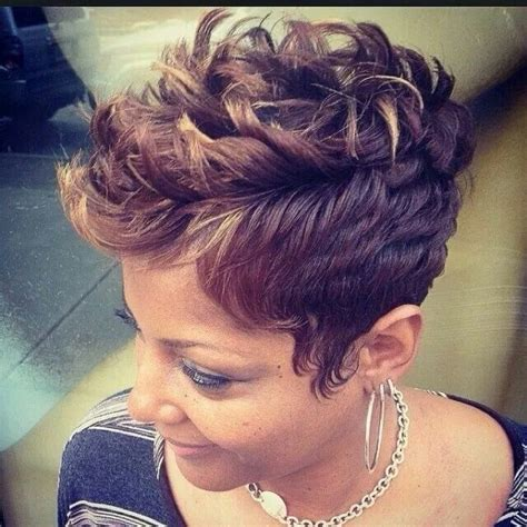 cool hairstyles from rollers for black women 17 best ideas about short afro hairstyles on pinterest