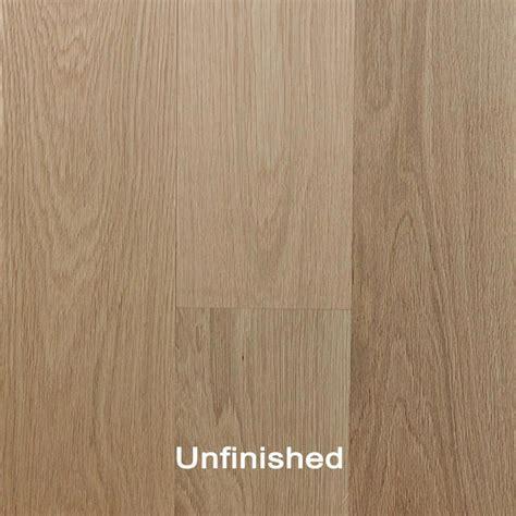 Unfinished Engineered White Oak Clear Hardwood Flooring