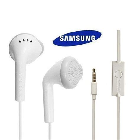 Headset Ori Samsung J5 white samsung original quality in ear earphones