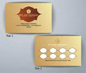 spa loyalty card template flyerforu com