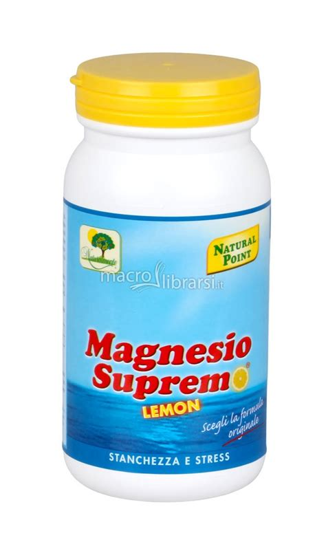 point magnesio supremo magnesio supremo limone point