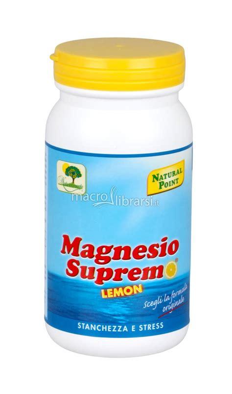 magnesio supremo stitichezza magnesio supremo limone point