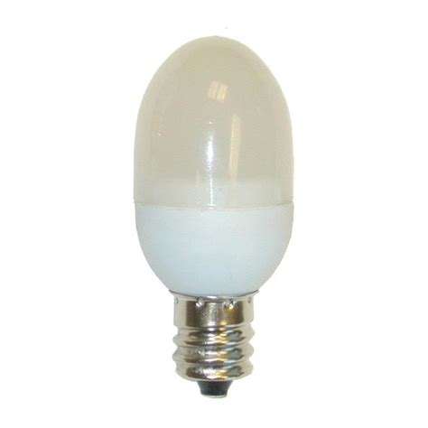 ge 0 5w c7 frosted led l warm white candelabra base 2
