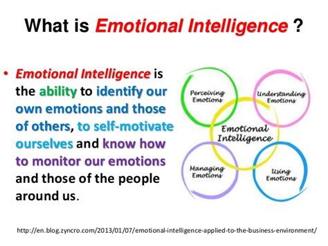 what is selves emotional intelligence ei