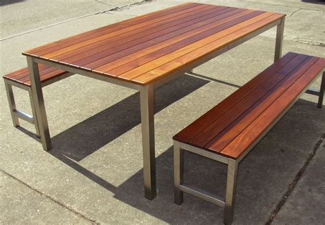 post and rail setting timber outdoor furniture brisbane