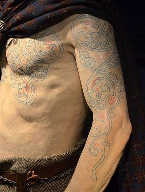 woad tattoo 17 best images about celtic warriors on
