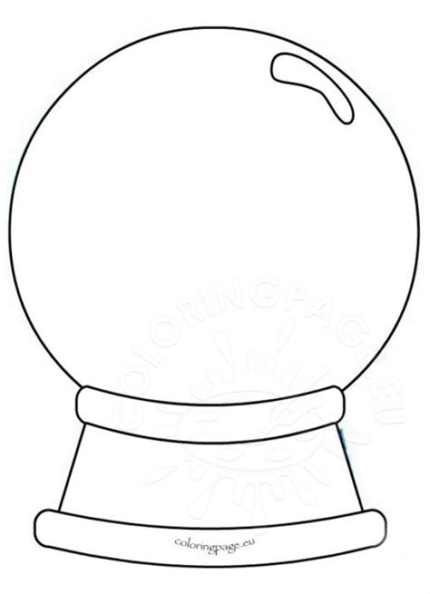 Www Snow Globe Card Template by Winter Coloring Page