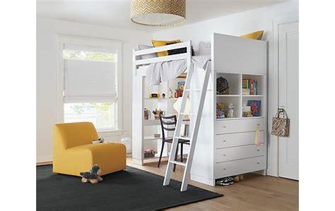 loft bed with desk and dresser moda loft bed with desk dresser modern furniture