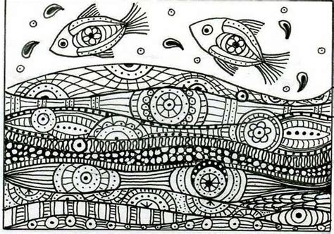 zentangle pattern water zentangle water i want to master this type of art this