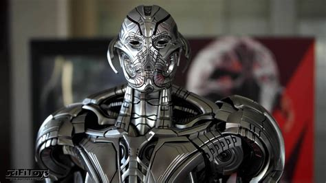hot toys ultron review hot toys age of ultron ultron prime figure youtube
