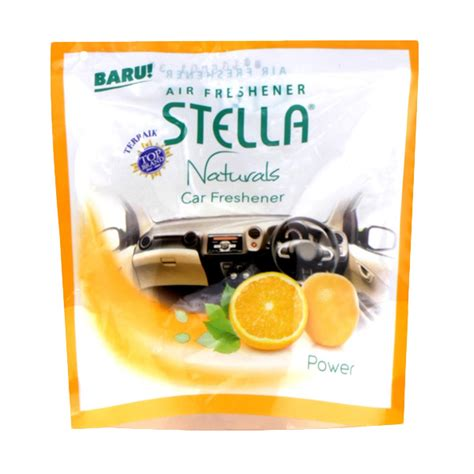 Stella Car Perfume jual stella power car freshener 70 g harga