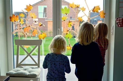 Herbstdeko Fensterbilder by Fensterbilder Basteln 64 Diy Ideen F 252 R Stimmungsvolle