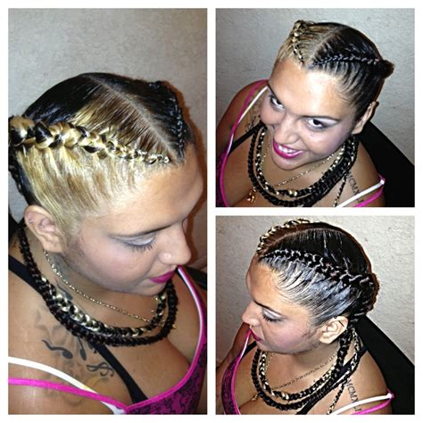 how to do a braidless braid with the topsy tail american braided hair styles all rihanna womans short