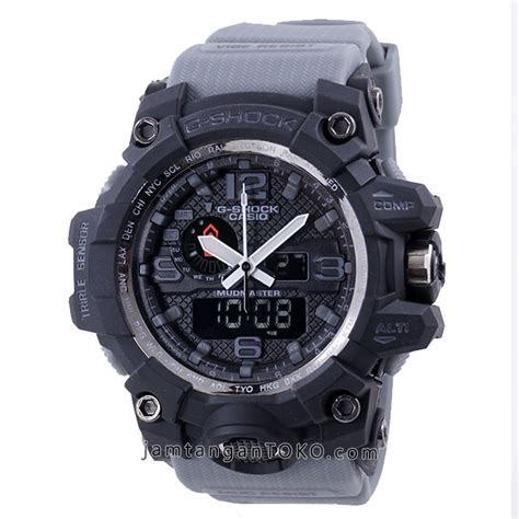 Jam G Shock Gwg 1000 Blue Rubber jam tangan g shock mudmaster kw gwg 1000 1a8 abu abu