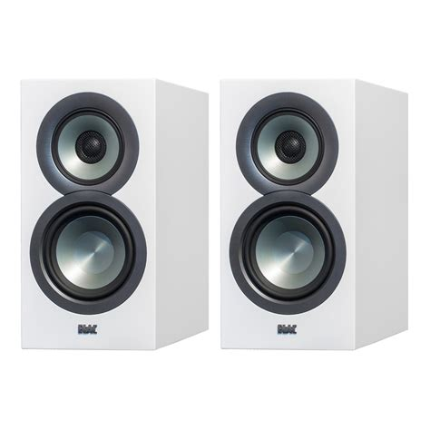 elac uni fi bs u5 slim 5 1 4 bookshelf speakers white