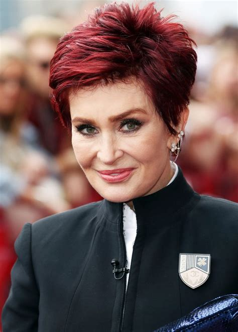 what does sharon ozbournes hair look like in the back sharon osbourne confirms she s been under the knife as she