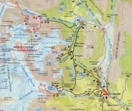 fitz roy hiking trails map ramblin boy