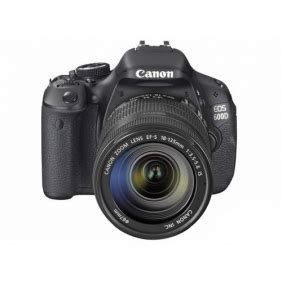 canon eos 600d slr camera kit with 18 135mm stm/is lens