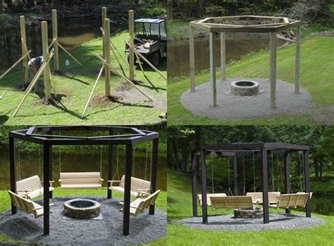 diy backyard swing pin by bonnie pinkerton on gardening pinterest