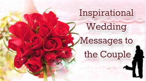 Wedding Wishes With God by Inspirational Wedding Messages To The