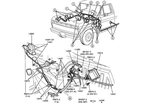 headlight wiring diagram ford truck enthusiasts forums
