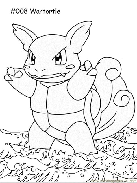 pokemon coloring pages wartortle wartortle coloring page free pokemon coloring pages