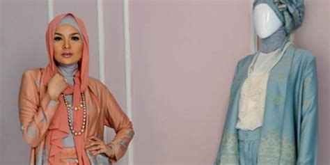 desain baju ria miranda lewat karyanya ria miranda jadikan busana muslim media
