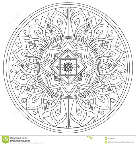 z coloring book for and adults 40 illustrations books mandala flower coloring vector for adults stock vector