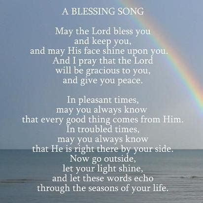a blessing song. free encouragement ecards, greeting cards