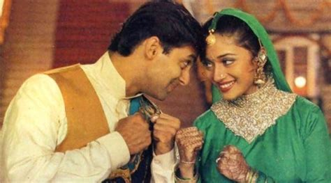 hum apke kaun hai 23 iconic years of hum aapke hain koun these photos of salman khan and madhuri dixit will leave