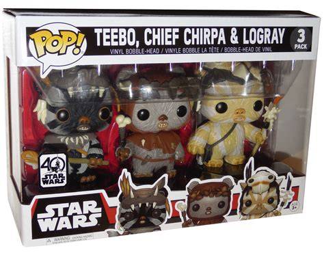 bobble 3 pack new exclusive funko pop bobble ewok 3 pack available