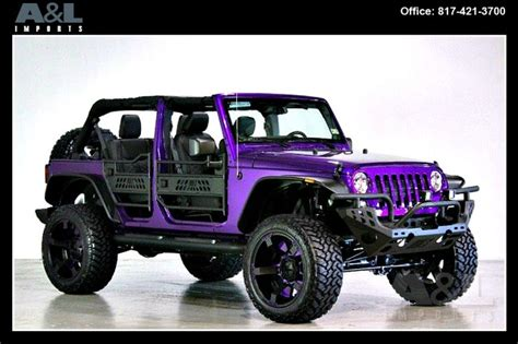 purple jeep no doors 2014 jeep wrangler unlimited sport at a l imports inc