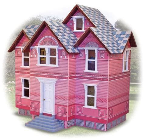 melissa doug classic heirloom victorian doll house dollhouses the old blue door