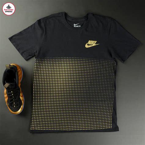 Tshirt Nike Ones Stuff nike air foosite one metallic gold shirt hook up