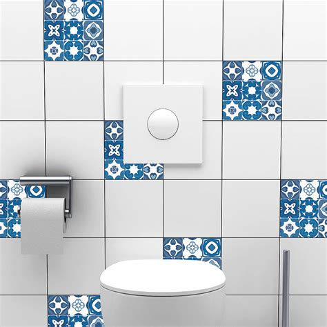 decals for bathroom tiles portuguese tile stickers by spin collective
