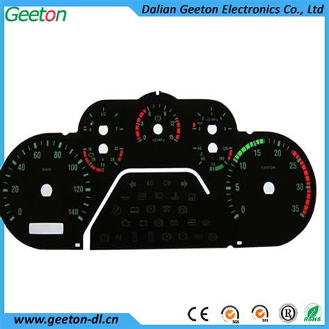 3d silk screen printing pc motorcycle digital speedometer