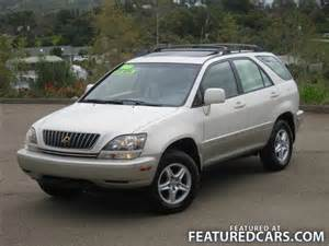 1999 Lexus Rx300 Mpg 1999 Lexus Rx 300 El Cajon Ca Used Cars For Sale