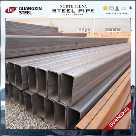 Besi Pipa Galvanis 4 4x4 galvanis pipa besi sifat persegi tiang pagar logam