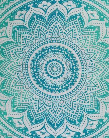 Aqua Colored Home Decor Turquoise Mandala Cheap Tapestries Turquoise Wall